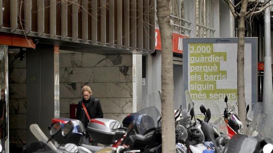 La crisis ha hecho de Barcelona la ciudad europea con más motos por habitante