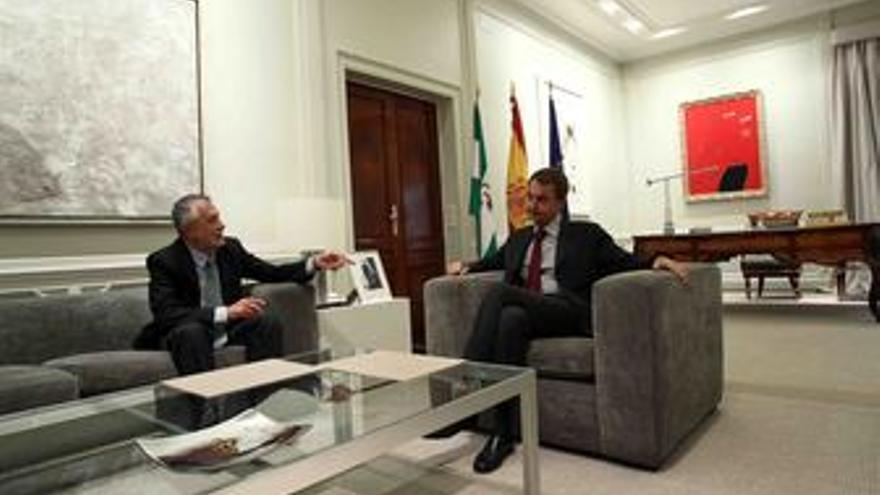 Presidente de la Junta de Andalucía, José Antonio Griñán, y presidente del Gobie