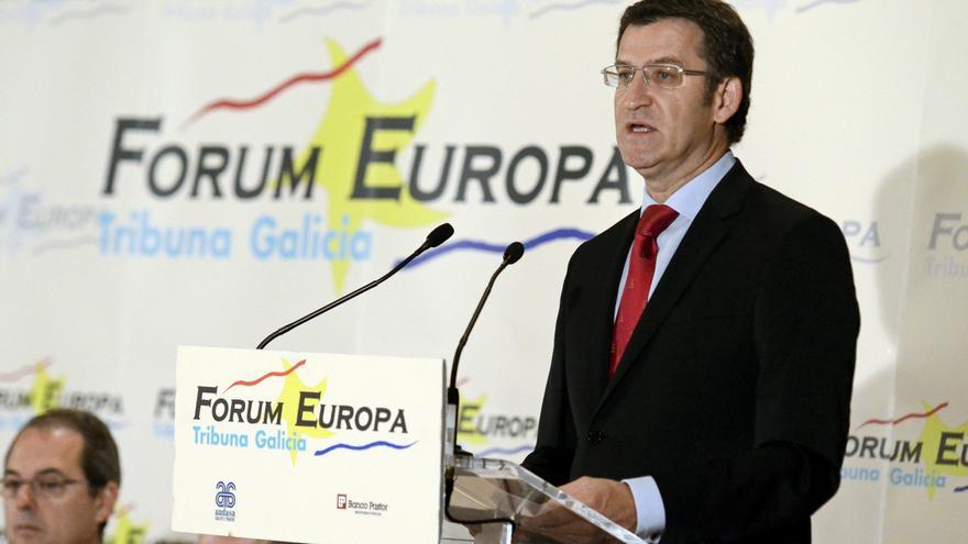 "Feijóo acusa a los gobernantes de Cataluña de buscar un ""chivo expiatorio"" a la bancarrota"