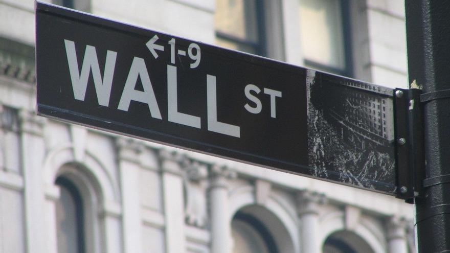 Letrero de Wall Street en Nueva York