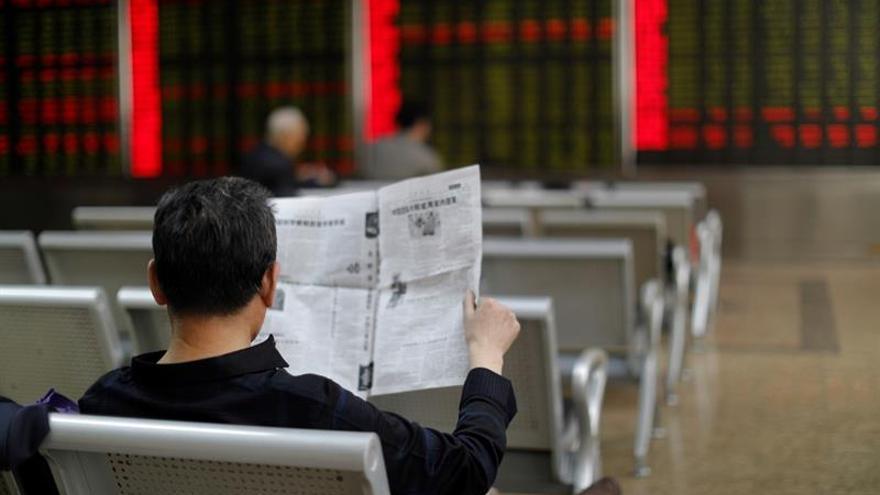 La Bolsa de Shanghái abre con un ascenso del 0,23%