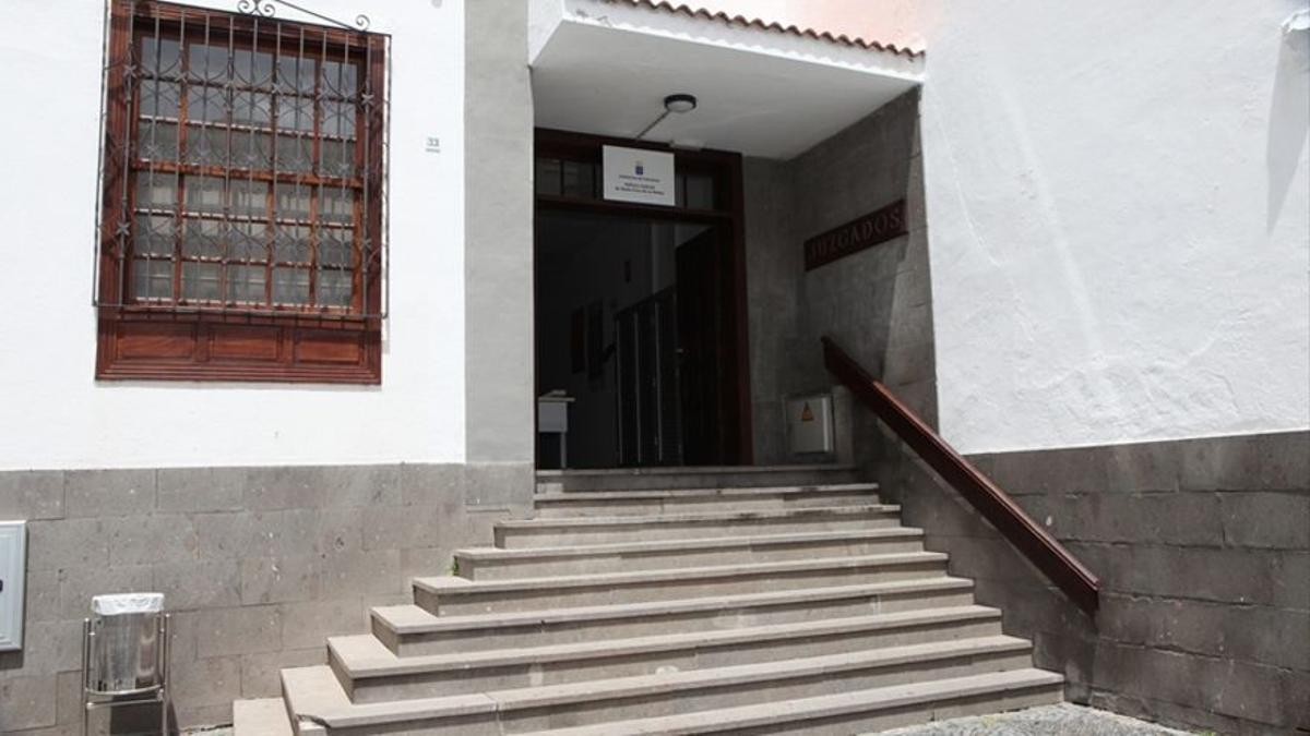 Imagen de archivo del edificio del Juzgado de Santa Cruz de La Palma.