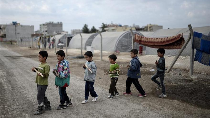 Los yihadistas crean campos de entrenamiento para menores en Siria