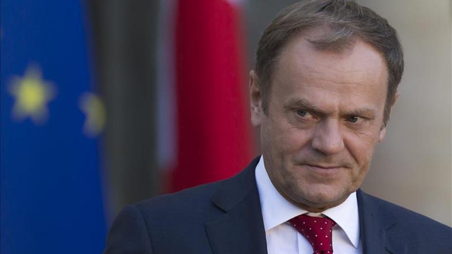 Tusk convoca para el domingo una cumbre de líderes de la UE con Turquía