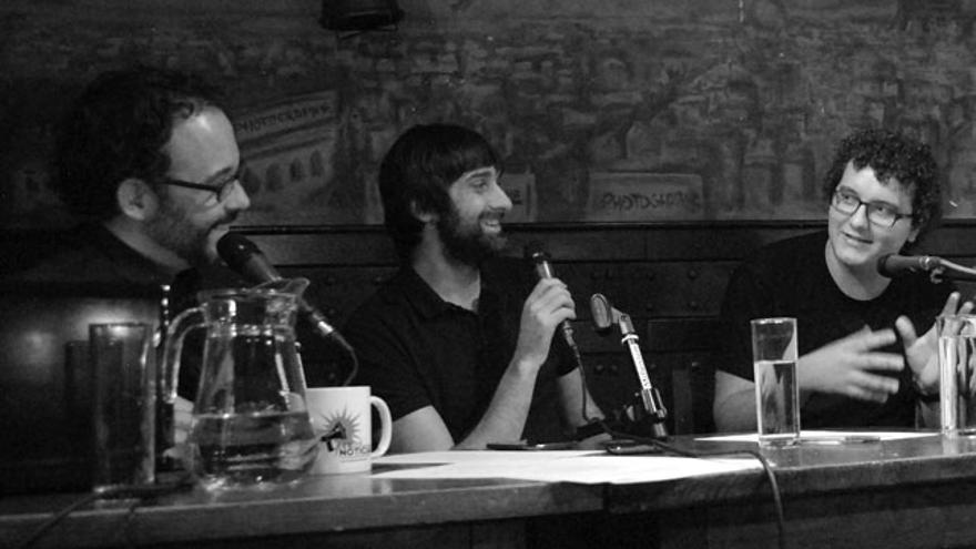 Facu Díaz con Lo de las noticias con Miguel Anómalo y Carlos Langa