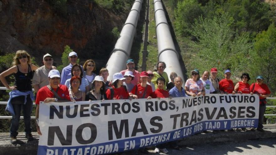 Acción ciudadana río tajo. Foto: redtajo.es