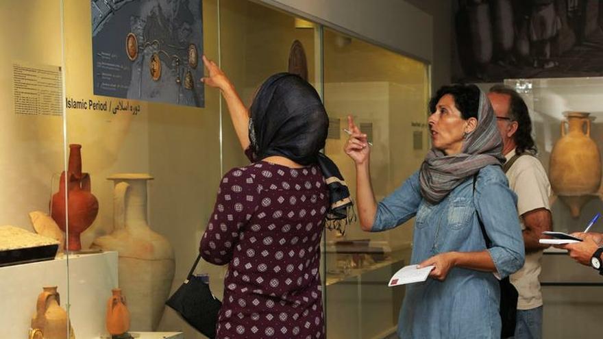 """Irán """"descubre"""" el Mediterráneo con una exposición arqueológica de Alicante"""