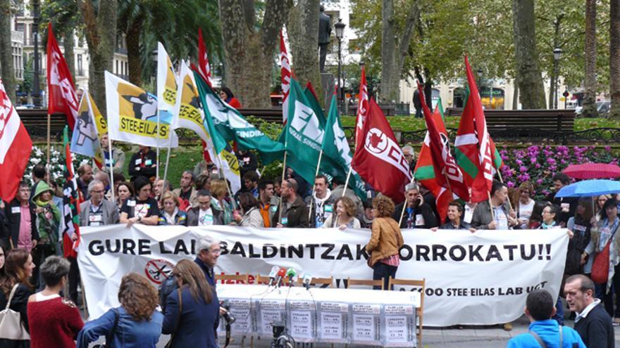 Sindicatos de escuela concertada anuncian nuevas movilizaciones contra los recortes. /G. A.