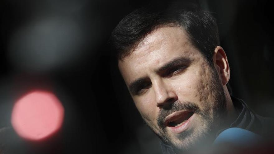"""Garzón: Con un PSOE """"desnortado"""", la legislatura puede durar varios años"""