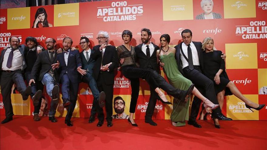 """""""Ocho apellidos catalanes"""", la película más taquillera del 2015 en España"""