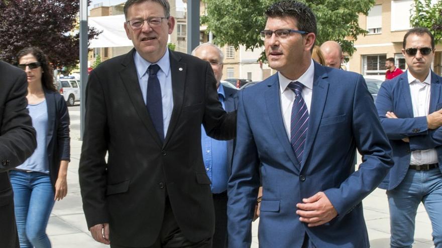 Ximo Puig y Jorge Rodríguez