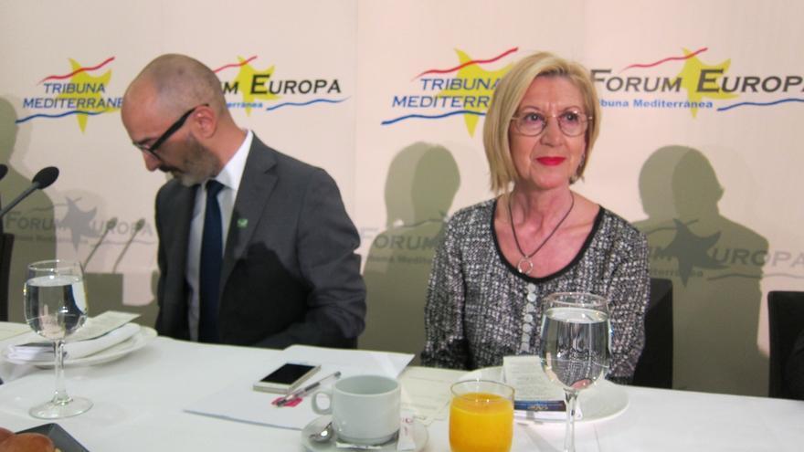 """Rosa Díez: """"Hemos molestado a gente muy poderosa"""" con la querella contra exgestores de Bankia y """"lo estamos pagando"""""""
