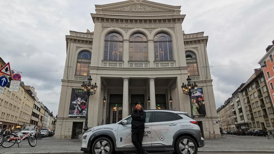 El Hyundai KONA eléctrico, compañero de viaje en esta aventura, ha recorrido ya más de 8.200 kilómetros de carretera demostrando sus altas capacidades.