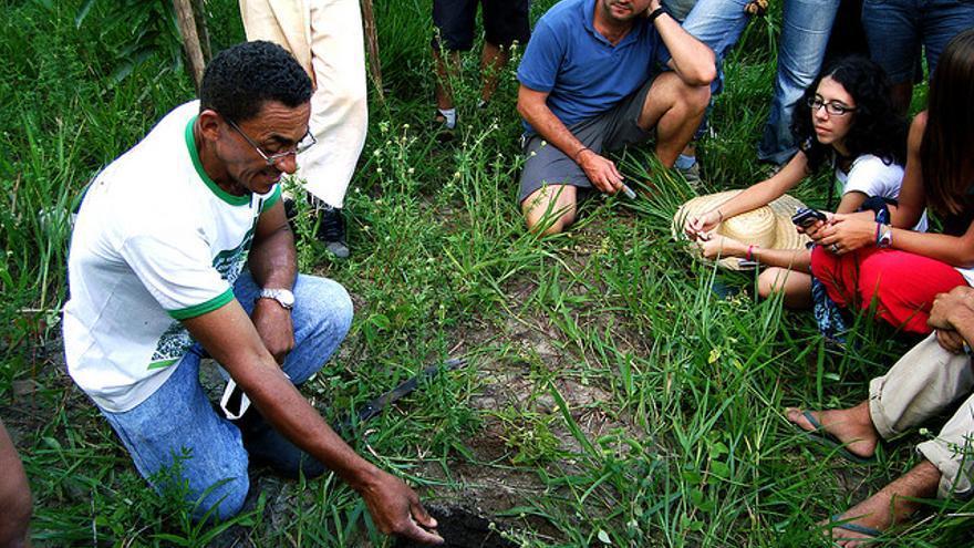 PDC - módulo I - Sítio São João - Lenir e Jones Pereira. En Flickr bajo licencia Creative Commons by-nc-sa