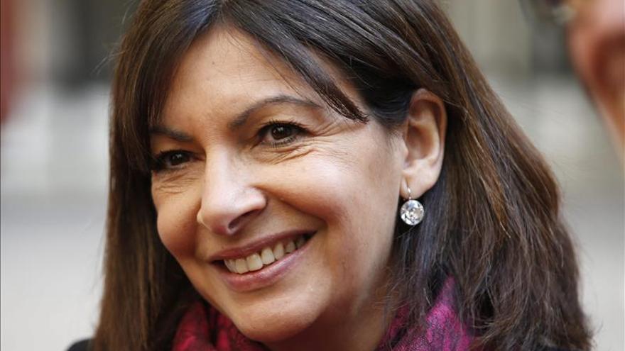 """La alcaldesa de París promete una ciudad """"cien por cien"""" verde en 2016"""