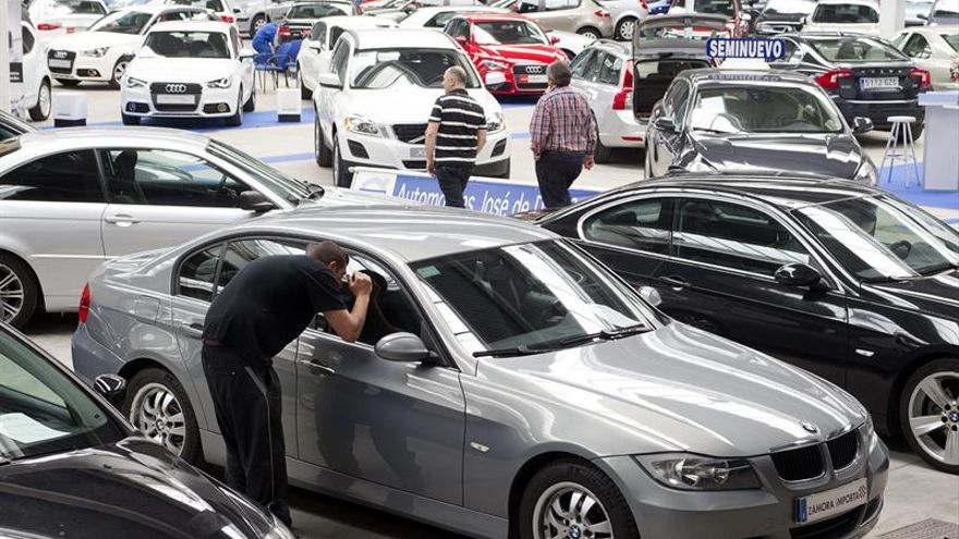 Las ventas de vehículos usados suben un 16,7 % en España hasta mayo