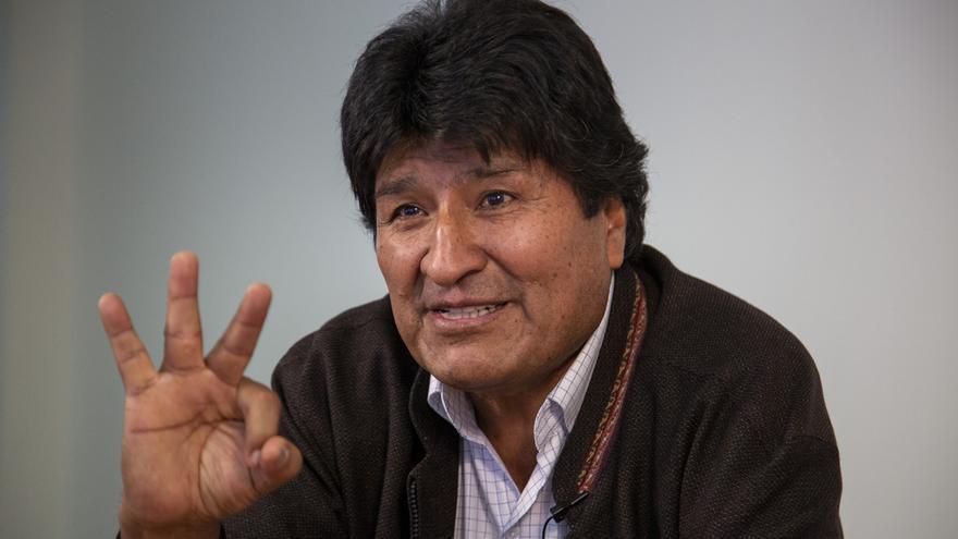 Evo Morales dice que España puede ayudar a pacificar Bolivia e insiste en mencionar a Zapatero