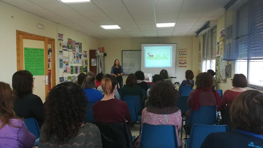 Encuentro de emprendimiento de mujeres rurales celebrado en Molina de Aragón