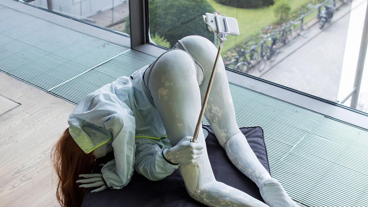 Escultura d'Anna Uddenberg.