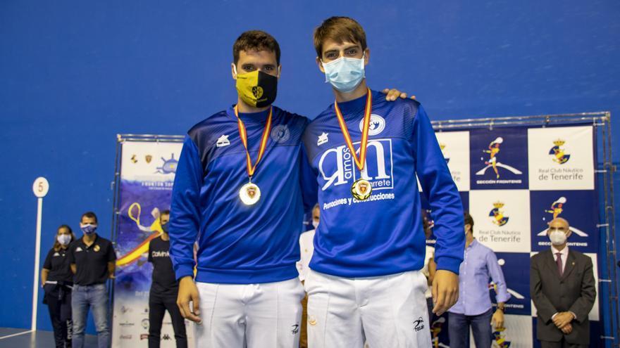 El Campeonato de España de Frontenis se queda en casa