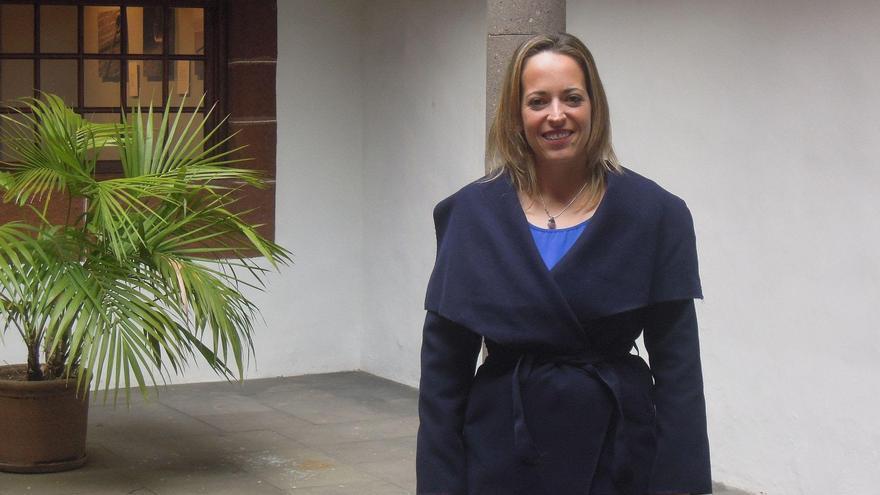 Susana Machín, consejera de Educación, Sanidad y Artesanía del Cabildo de La Palma.