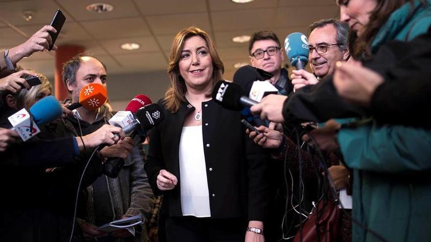 Susana Díaz, convencida de que mañana saldrá fecha para el Congreso del PSOE