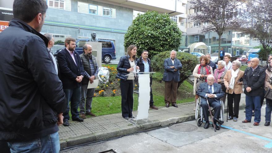 Homenaje a Rafael de Vega, este viernes en la calle que lleva su nombre en Lugo