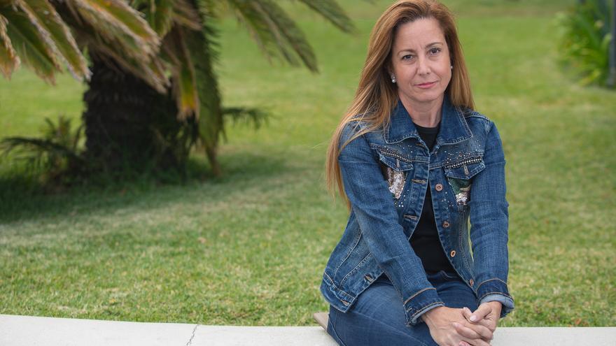 Marta Poggio, concejal del PP en el Ayuntamiento de Santa Cruz de La Palma.