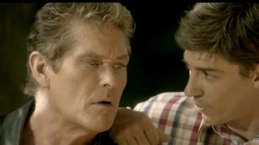 """David Hasselhoff y su 'Fuga de cerebros', en """"El Hormiguero"""""""