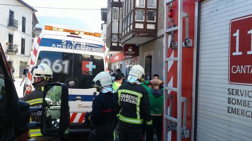 Herido grave un hombre de 71 años atropellado en Ramales