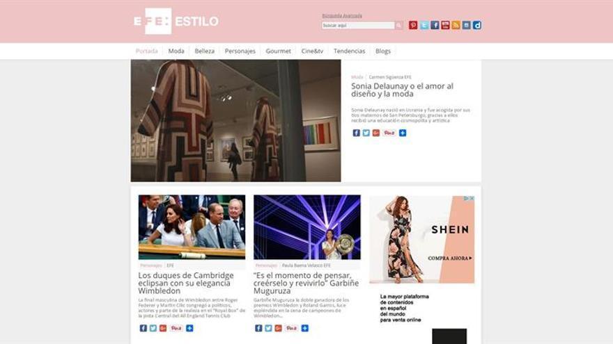 Efe Estilo, Premio Nacional a la Comunicación en el sector de la Moda