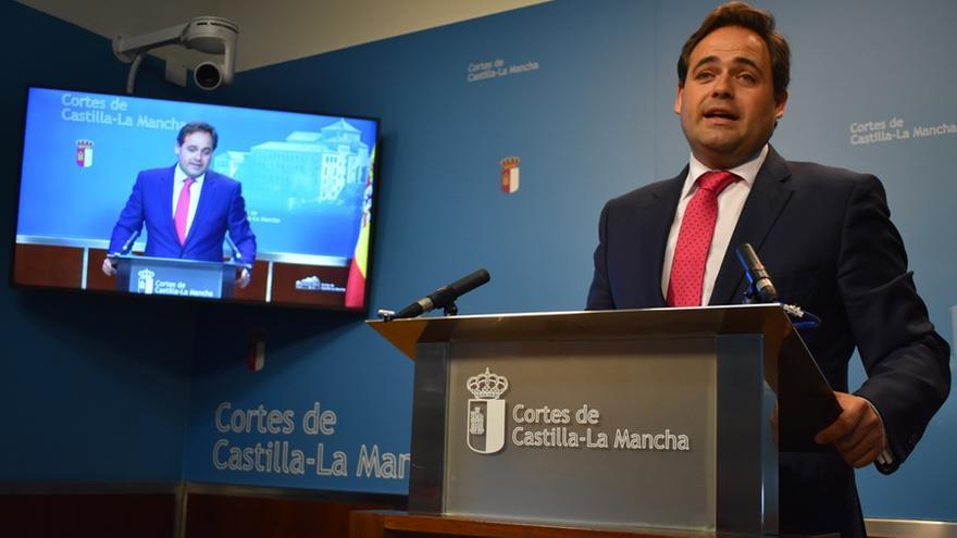 Paco Núñez, presidente del grupo popular en las Cortes de Castilla-La Mancha