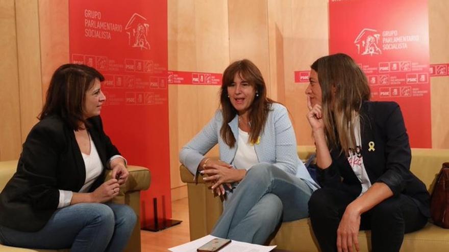 """PSOE pide a Junts no bloquear la investidura pero el partido de Puigdemont dice que """"no se dan las circunstancias"""""""