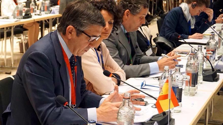 """Patxi López critica en Europa la """"austeridad irreflexiva"""" y la gestión de la crisis de los refugiados"""
