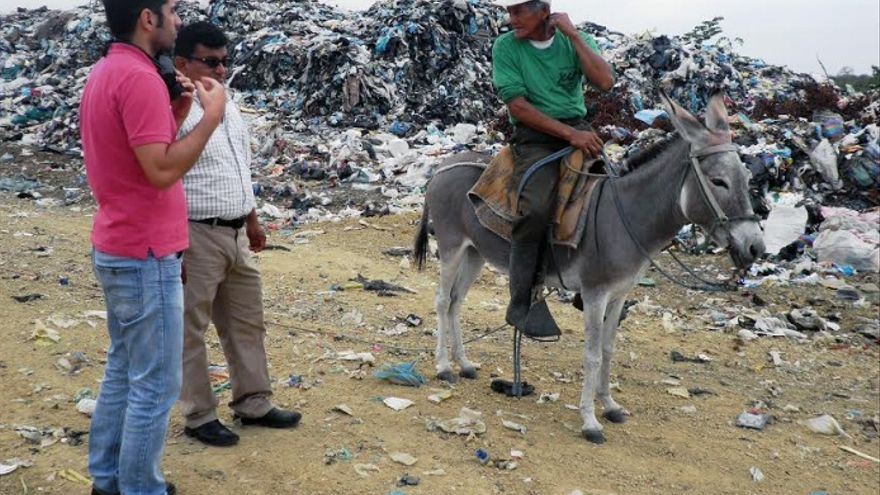 Nemesio Toro, voluntario en Ecuador en la pasada edición de Felcode