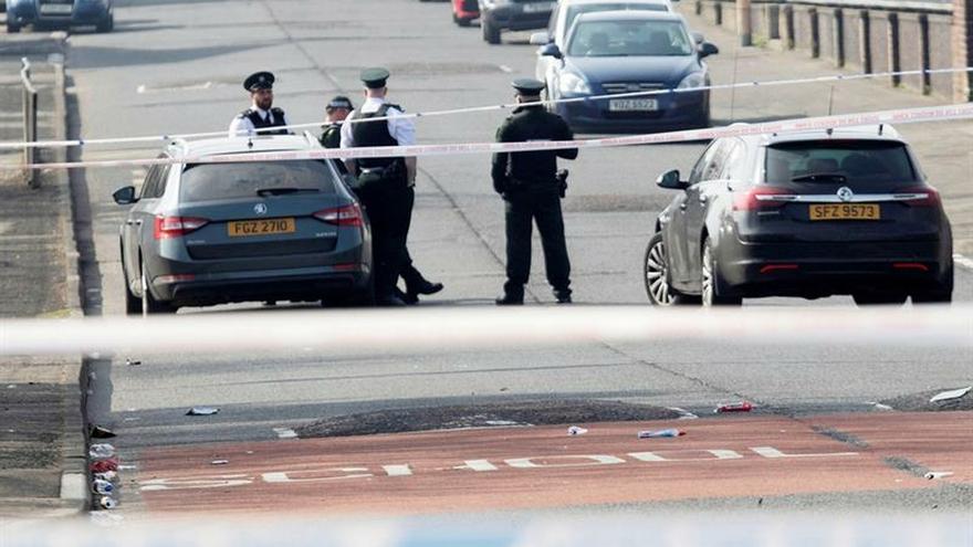 Dos jóvenes detenidos con relación al asesinato de una periodista en Derry