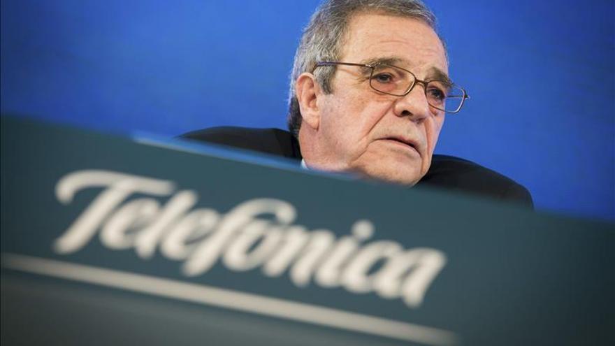 Telefónica gana 1.802 millones hasta marzo, 2,6 veces más, tras la venta O2