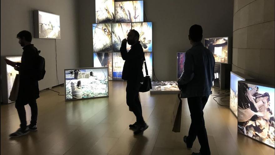 Exposición de Zineb Sedira en el IVAM.