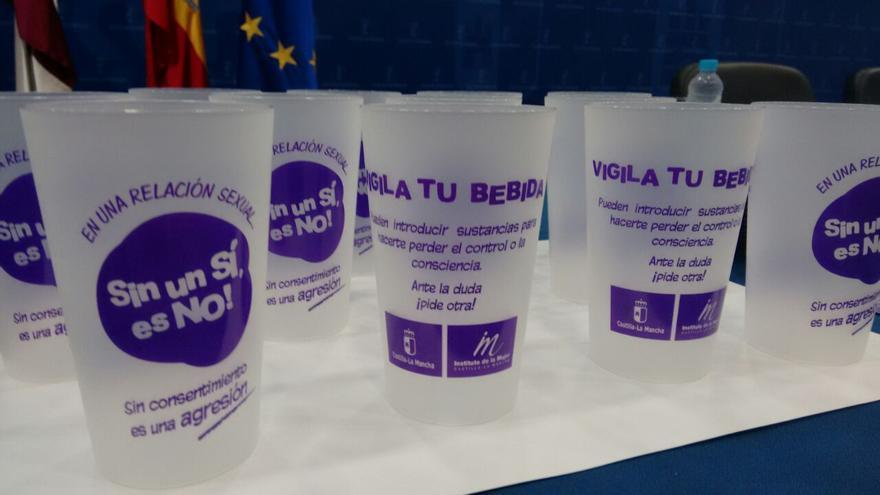 Campaña 'Sin un sí es no' del Instituto de la Mujer Castilla-La Mancha