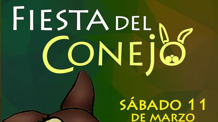 Cartel de la Fiesta del Conejo.