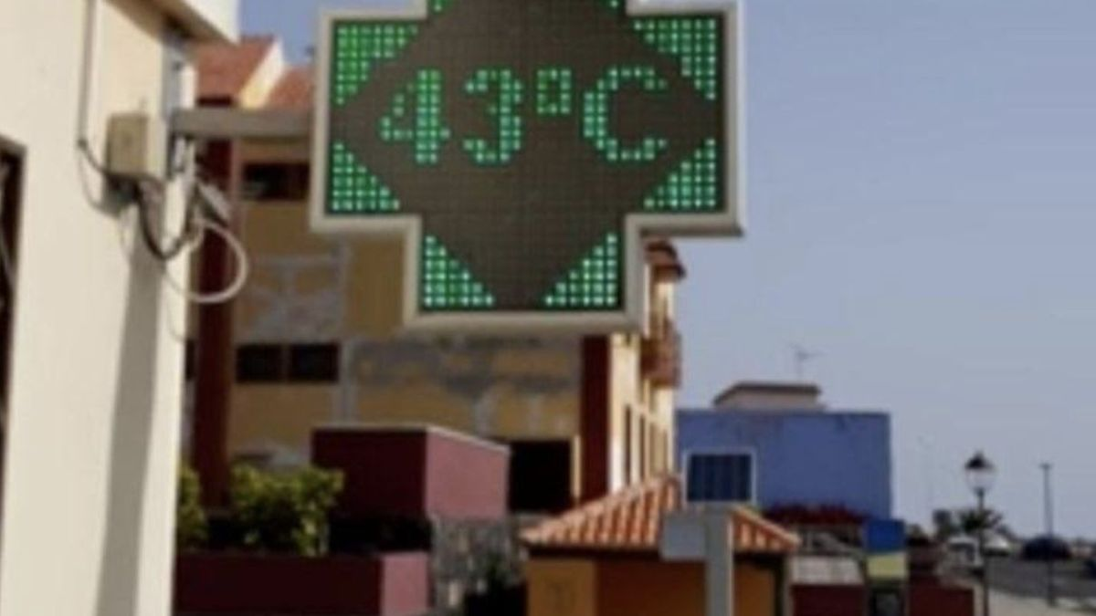 Imagen de archivo de los 43 grados que se alcanzó el pasado 16 de agosto en Puntallana.