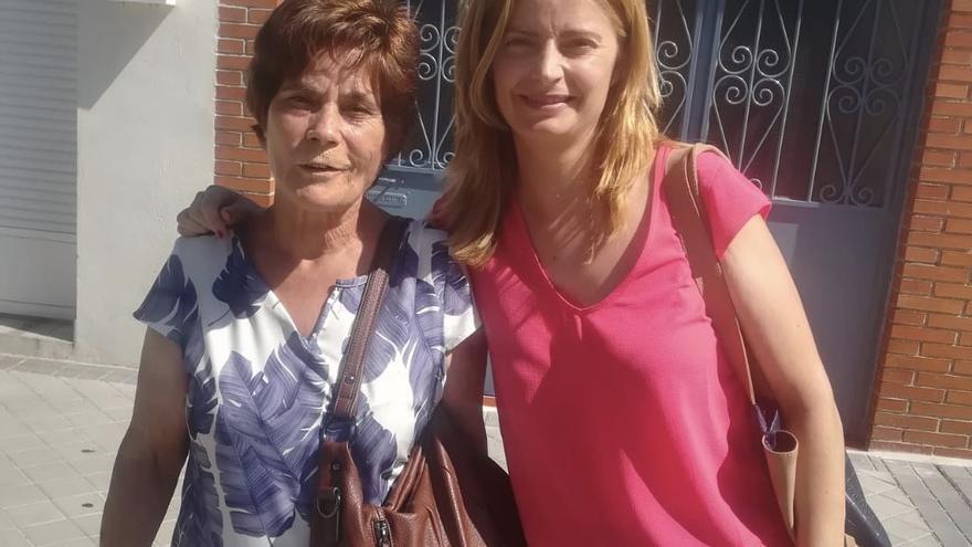 Ana Belén y su madre Pilar. Foto cedida por la familia