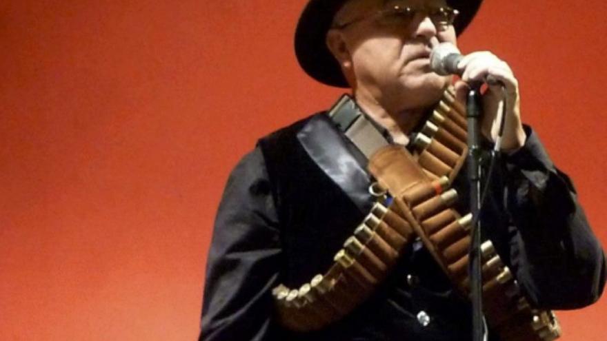 Ramón Araújo durante una actuación.