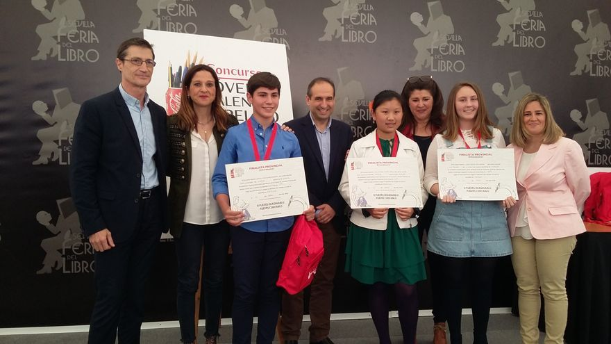 Entrega de premios del Concurso de relato corto de Coca Cola en Sevilla
