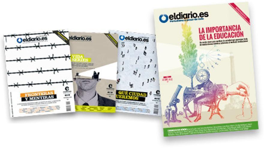 Pack de revistas de eldiario.es