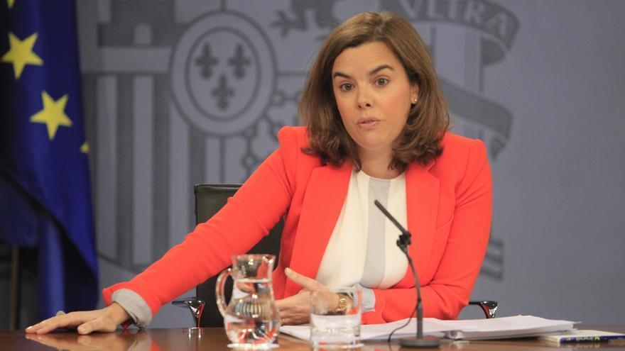 """Santamaría pide a """"todos los partidos"""" trabajar por gobiernos estables porque el """"objetivo de país"""" es el empleo"""