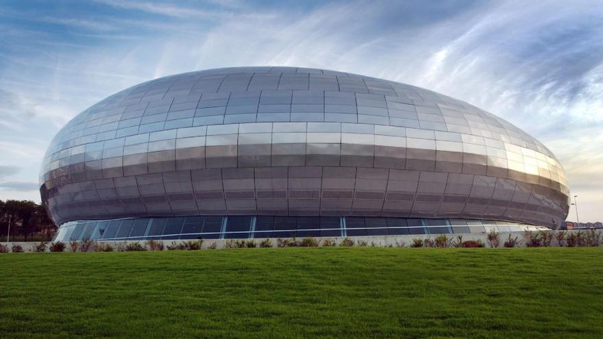 El Palacio de los Deportes de Santander