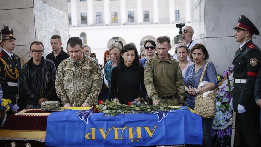 Informan de ocho muertos en combate entre las fuerzas de Kiev y los prorrusos