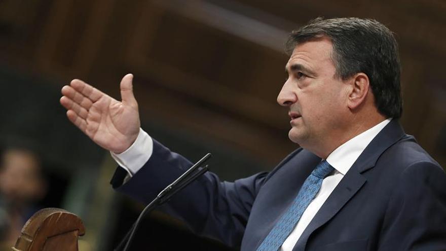 El PNV recalca que Puigdemont no declaró la independencia y rechaza el 155
