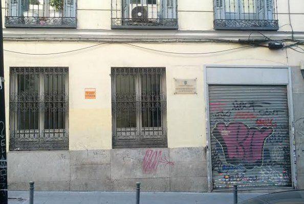 Número 7 de Divino Pastor, futura sede de la escuela internacional de flamenco   Foto: Somos Malasaña